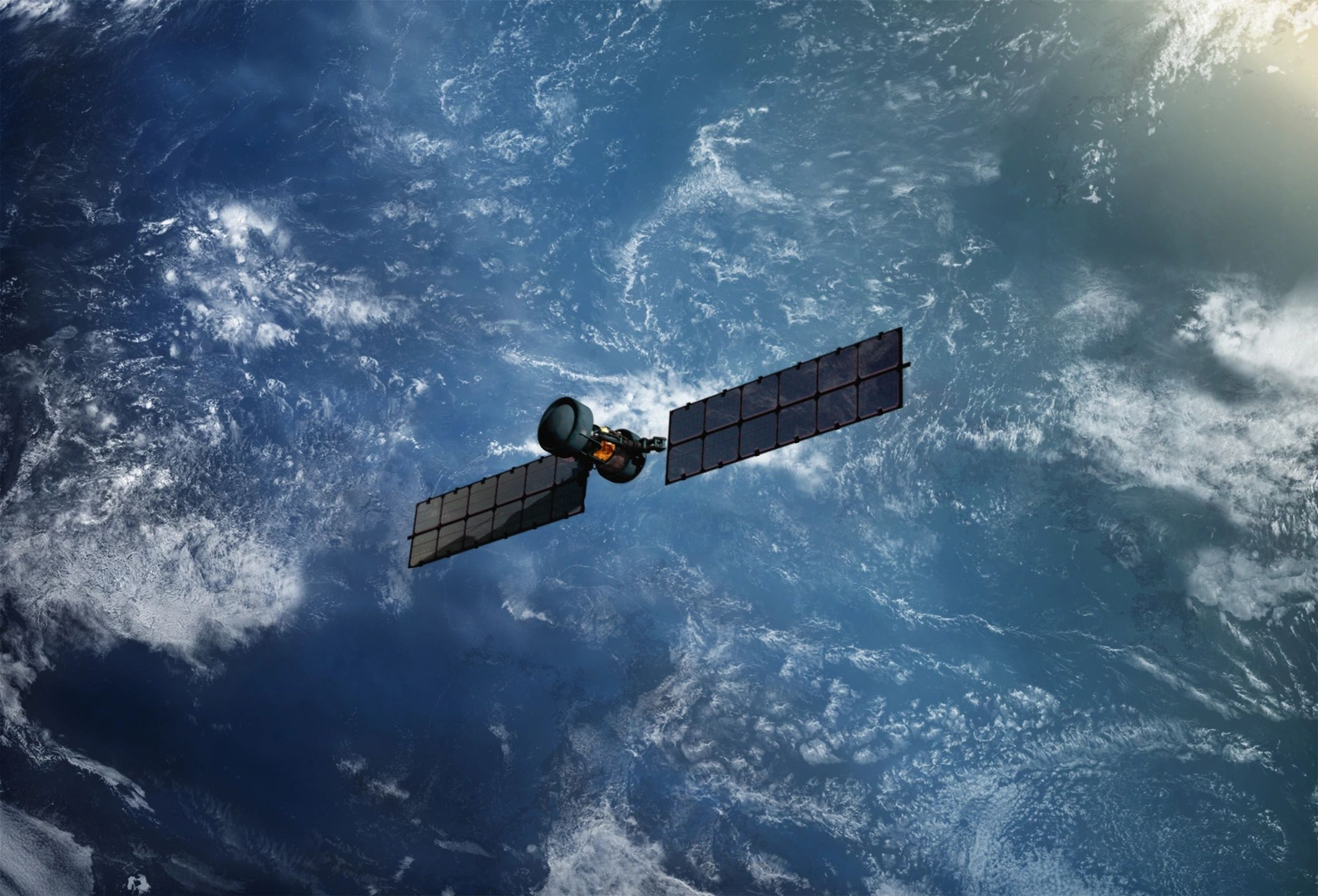 artist concept of satellite
